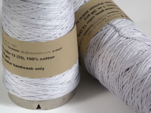 Habu Cotton gima - pale grey/lilac